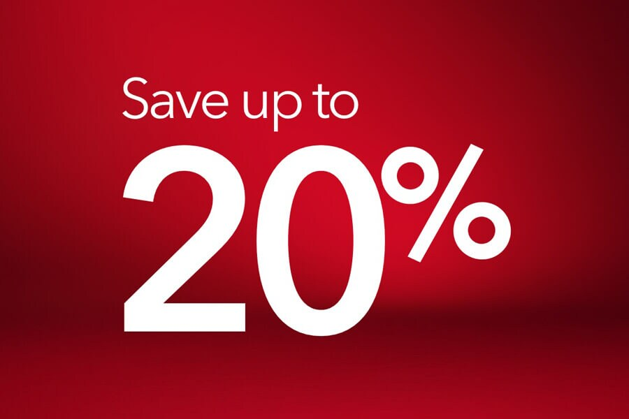 Save up to 20% in the Avis End of Season Sale